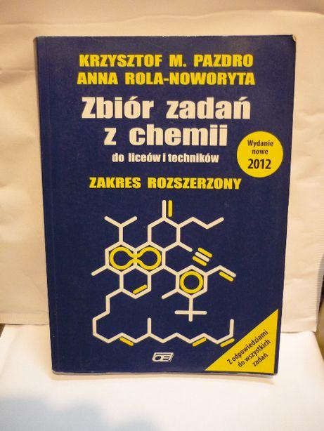 Zbiór zadań z chemii do liceów i techników , Pazdro.