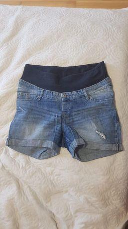 Spodnie jeansowe ciążowe hm rozmiar 42/ szorty jeansowe