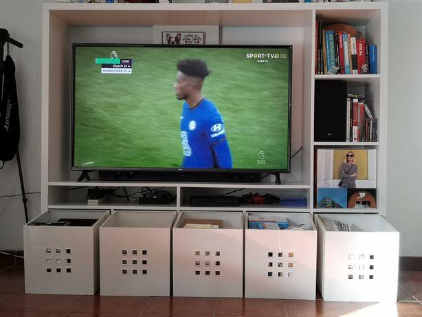 Móvel TV Branco IKEA
