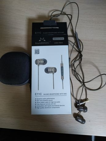 Słuchawki soundmagic e11c