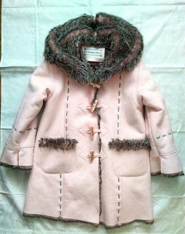 Płaszczyk palto kożuch futerko Chamonix