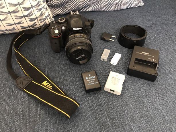 Nikon d5300 + Nikkor 50 mm 1.4G