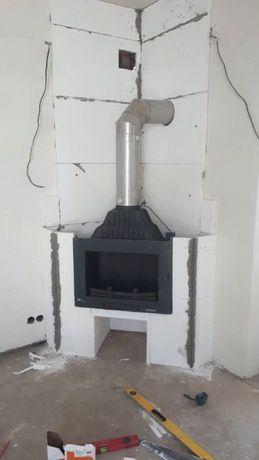 Кальций силикатная плита для монтажа камина