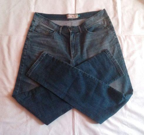 Spodnie meskie jeans London NEXT 34 blue slim carhartt levis superdry