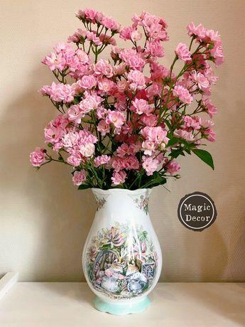 Фарфоровая ваза Лето Ежевичная Поляна Brambly Hedge Royal Doulton