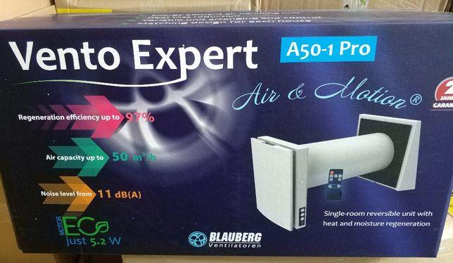 BLAUBERG VENTO Expert стеновой проветриватель с рекуперацией тепла