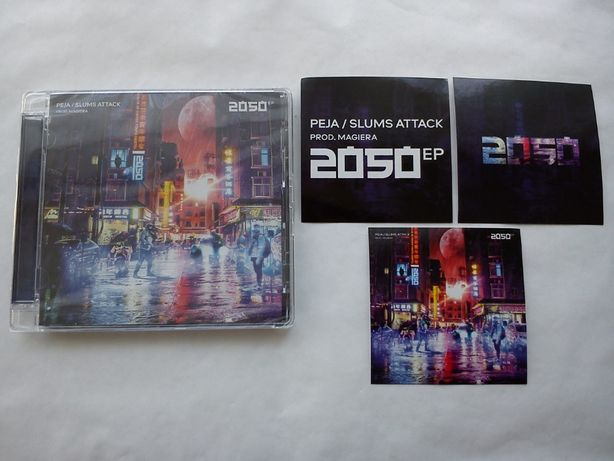 Peja/Slums Attack - 2050 EP (prod. Magiera) LIMITOWANY NAKŁAD 3000 szt