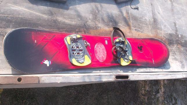 Scott 135 USA deska snowboard + wiązania BDB