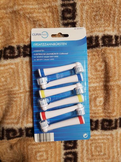 Насадки для зубних щіток CURAmed