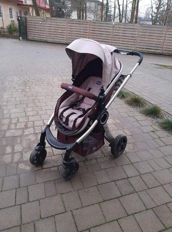 Wózek dziecięcy 3w1 chicco fotelik samochodowy baza