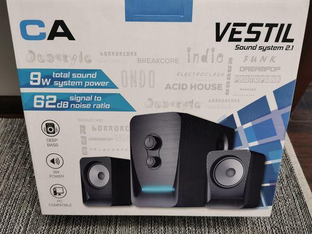Głośniki komputerowe Vesitil CA1512 - 2.1