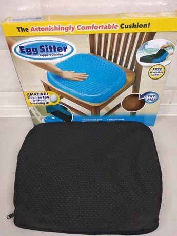 Гелиевая подушка ортопедическая для сидения Egg Sitter подужка