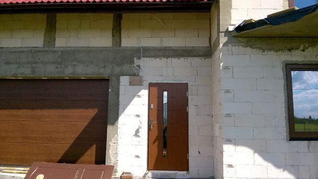 Komplet drzwi wejściowych płytowych na debie Arie