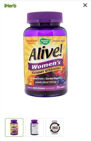 Женский  витаминный комплекс Alive