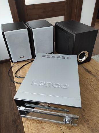 Mini wieża Lenco MP3 DVD Home Cinema Set MDV-24