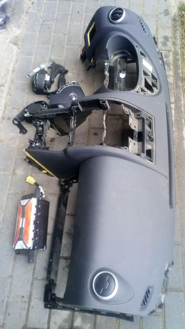 Deska qashqai poduszki airbag