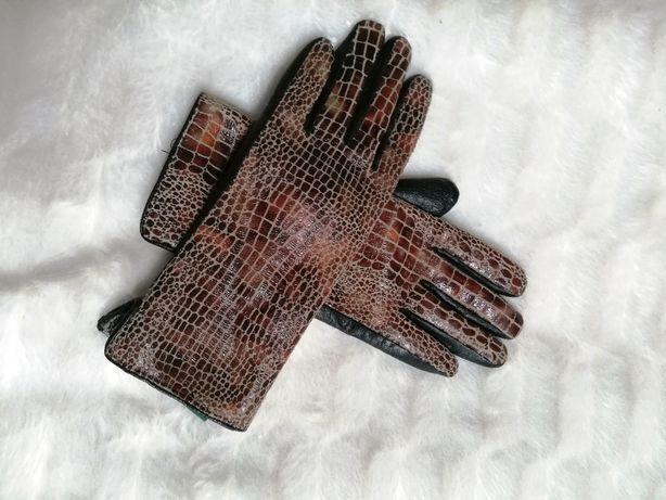 rękawiczki eko skórka