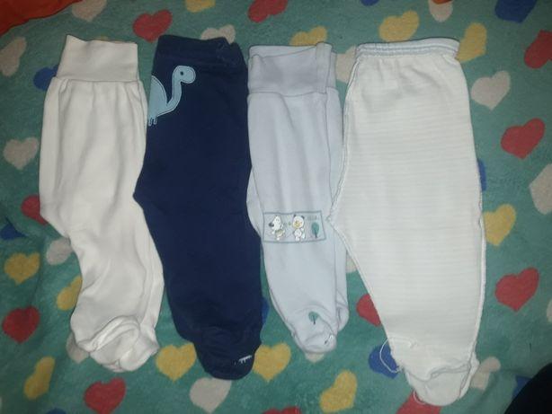 Spodnie niemowlęce roz 56