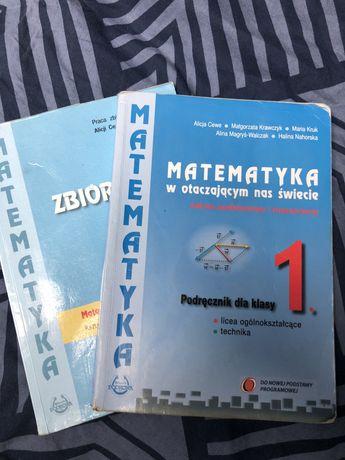 Matematyka w otaczającym nas świecie 1 + zbiór zadań 1 (pod i roz)