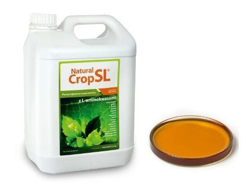 Natural Crop SL to płynny nawóz organiczny do stosowania nalistnego i