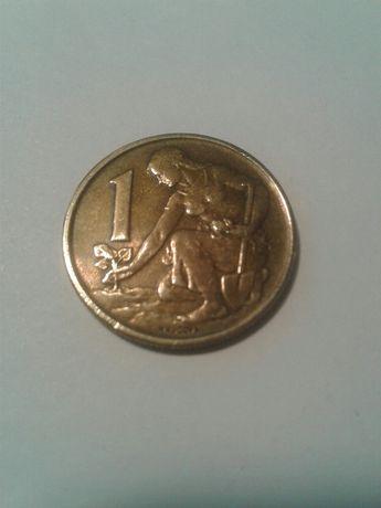 1 крона 1975 Чехословакия