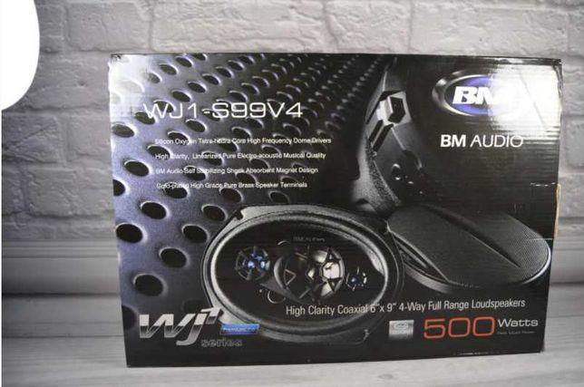 Акустика Bohchmann bm audio 500W 4х полосные динамики автоиагнитола