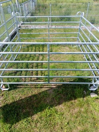 Panele bramy ogrodzenia boksy przenośne do zwierząt bydła koni owiec