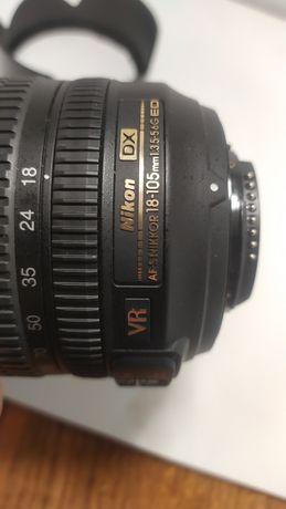 Відмінний об'єктив, Nikkor 18-105mm 1:3.5-5.6G ED, стан ідеальний
