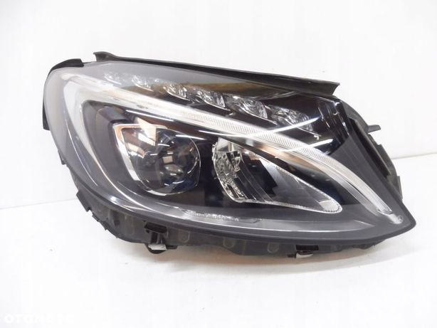 MERCEDES W205 A205 LAMPA PRAWA PERFORMANCE