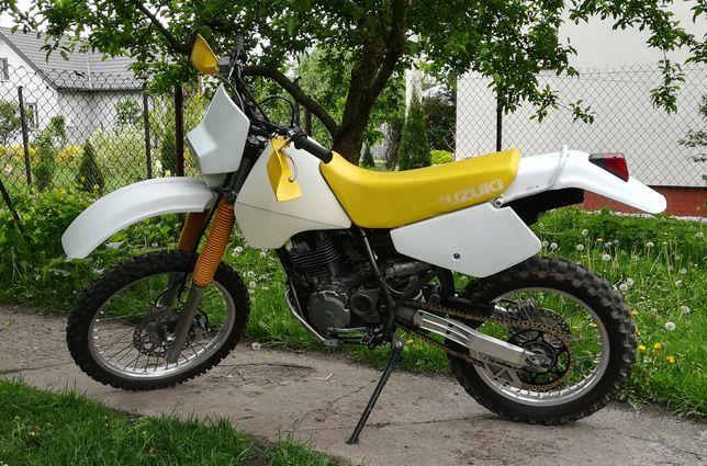 Suzuki dr 350, rama z dokumentami