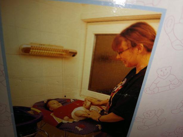 Test promiennika ciepła REER do przewijania niemowląt