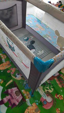 Łóżko turystyczne dziecięce 60×120