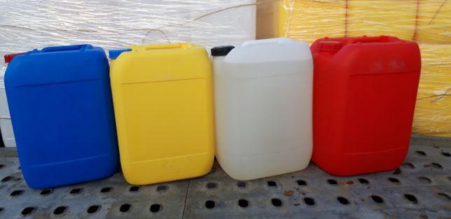 Kanistry bańka plastikowa 20 litrów.