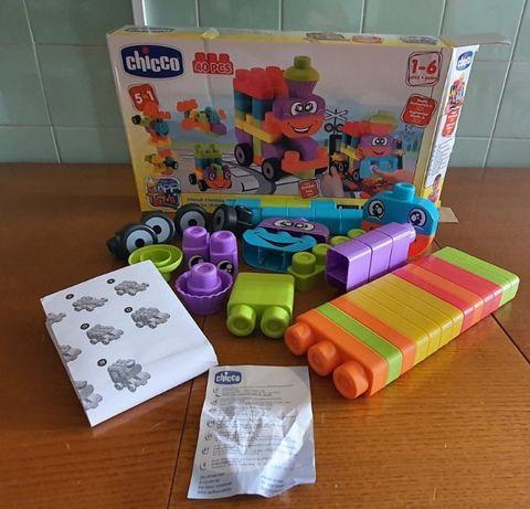 Legos Chicco Blocks 5in1 | 40 peças