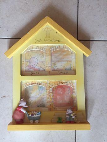 Детская фоторамка домик