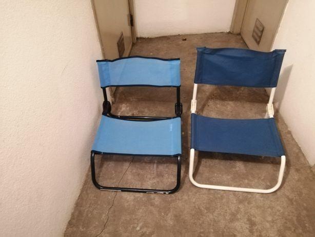 Cadeiras de praia / campismo