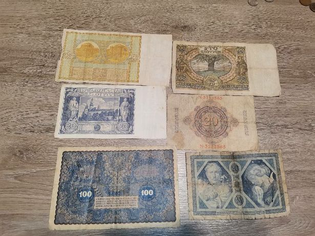 Banknoty przedwojenne