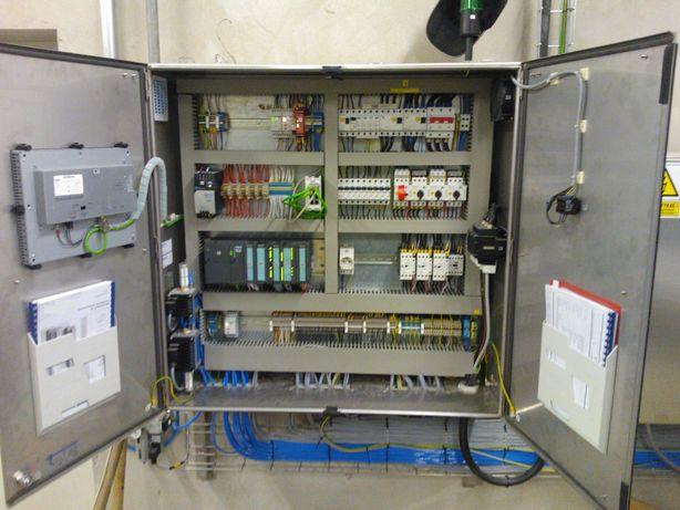 Automatyk Elektryk Serwis Instalacja elektryczna prefabrykacja szaf
