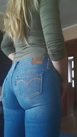 Spodnie damskie Levis