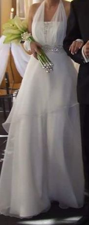 Suknia ślubna, rozmiar 36 na wzrost 164
