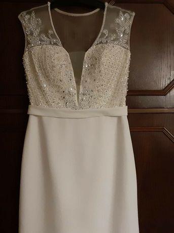 Śliczna sukienka na ślub.