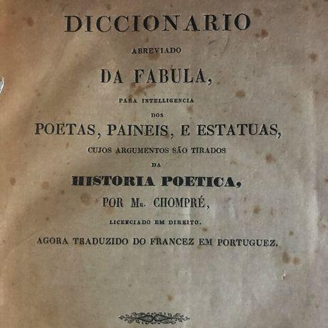 Dicionário Abreviado da Fábula (1858) de Chompré
