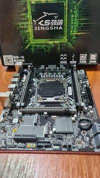 LGA 2011-3 JINGSHA X99 (X99M-G V1.0) m.2 NVME DDR4ECC sata3 USB3