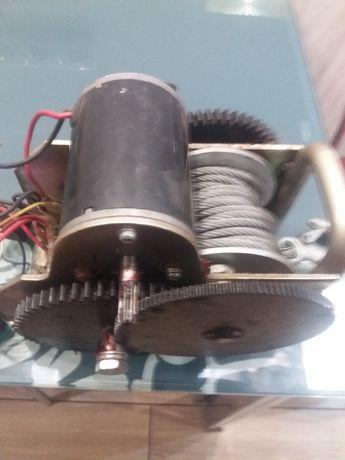Лебётка автомобильная электро