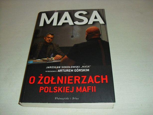 Książka -- MASA -- O żołnierzach polskiej mafii