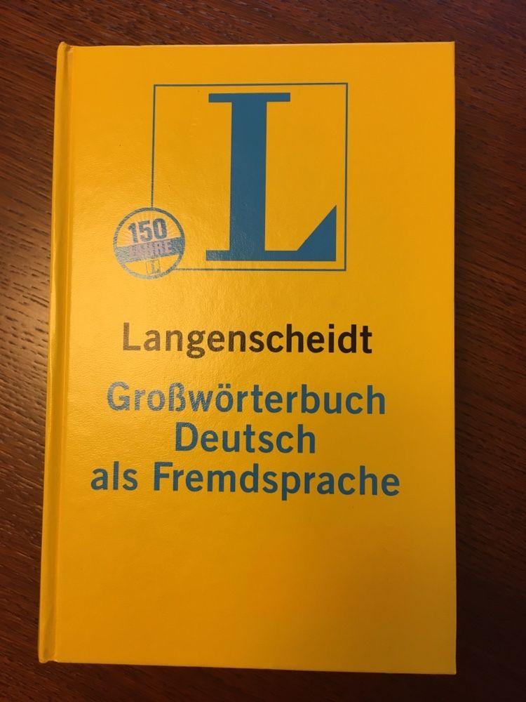 Słownik języka niemieckiego Langenscheidt niemiecko-niemiecki