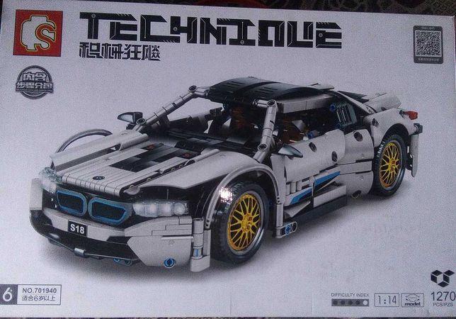 конструктор Lego Technic аналог Sembo BMW i8