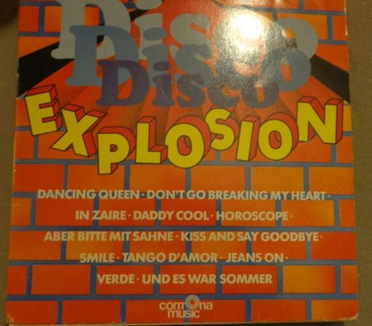 Disco Explosion Dancing Queen LP winyl