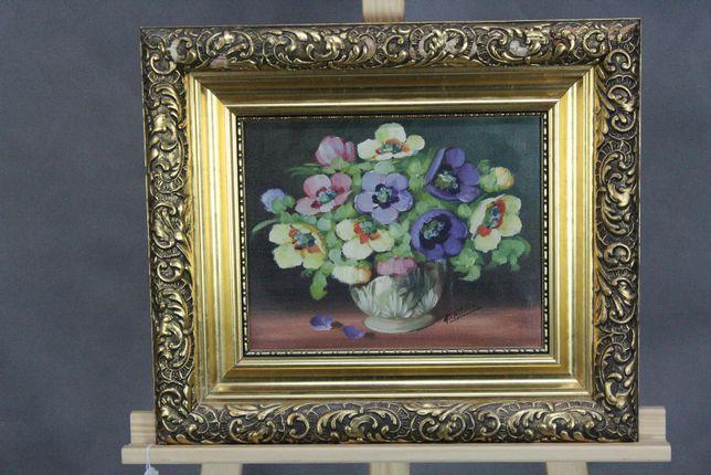 =ARTexpert= Obraz olejny płótno kwiaty