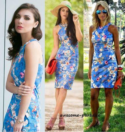 XS , S , M - ZARA piękna nowa sukienka ołówkowa kwiaty floral